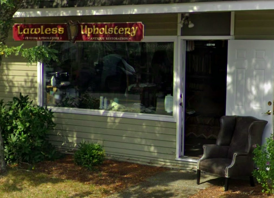 lawless upholstery store